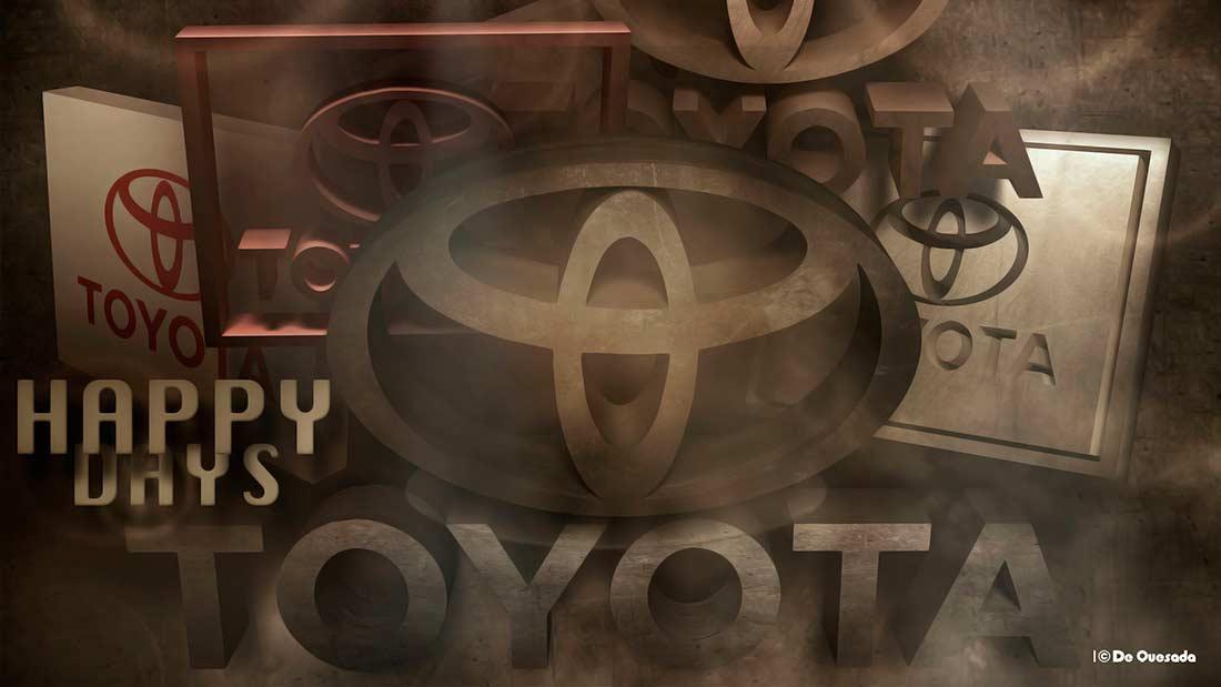 Logo 3d toyota