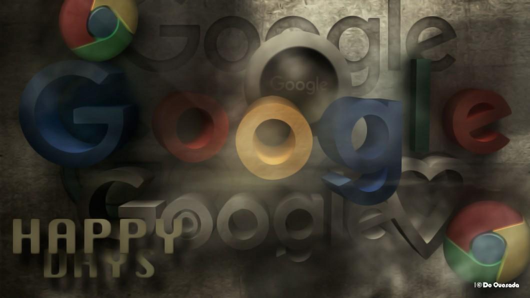 Colourful google 3d logo - Japan