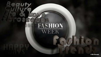 Advertising gallery black and white round glossy button