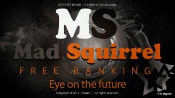 Branding gallery dark grey round graphic with stars and orange text