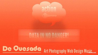Graphic design gallery cloud and rectangular graphic on the orange background