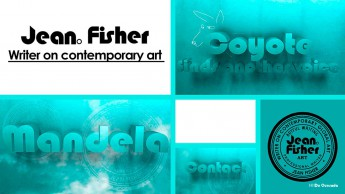 Web design gallery home page of Jean Fisher website