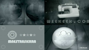 Web design gallery home page of Weekeek website