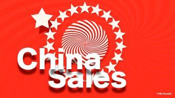 Graphic design gallery red round stripy graphic with white stars around it